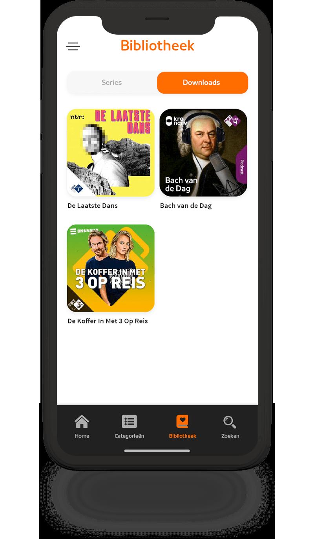 Screenshot Zowel online als offline
